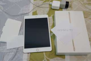 Ipad mini 4 16gb wifi cell gold like new condition