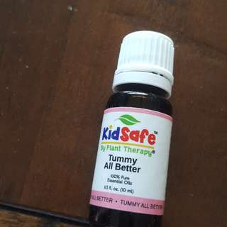 Essential Oil plant therapy kids safe - Tummy All Better