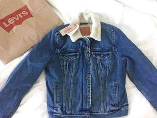 Levi Sherpa Denim Jacket