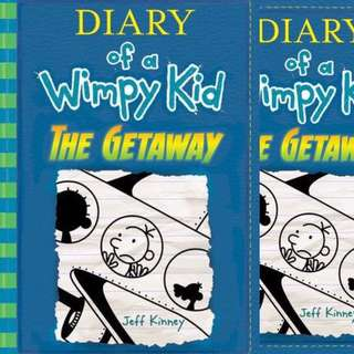 Diary of a wimpy kid The Getaway by Jeff Kinney