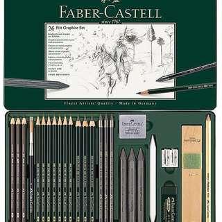 Fabre Castell 26 Pitt Graphite Set