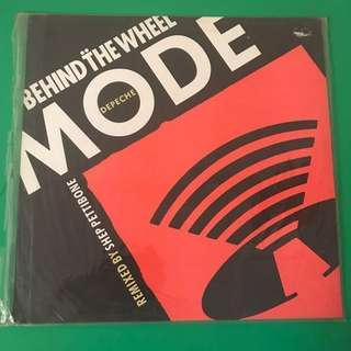 DEPECHE MODE BEHIND THE WHEEL SHEP PETTIBONE MIX VINYL SINGLES
