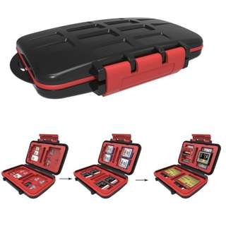 Brand New Memory Card Storage Tough Case - Waterproof and Impact Protection