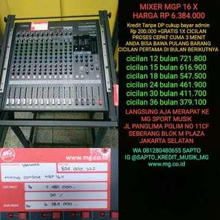 Yamaha mixer MGP 16 X