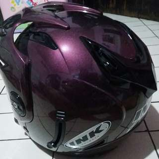 Helm INK warna Ungu