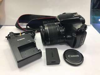 Canon 1100D EF-S 18-55mm (nego)
