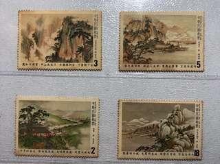 台灣郵票特185-唐詩