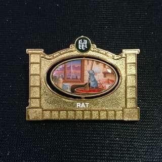 上海 迪士尼 鼠年 徽章