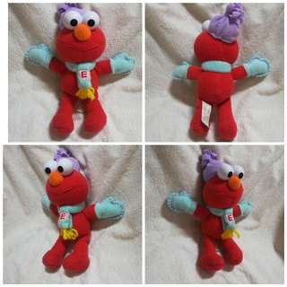 Vintage Fisher Price Winter Elmo Plush Toy