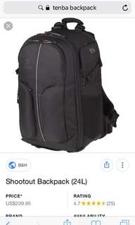 Tenba Shootout Backpack 24litres
