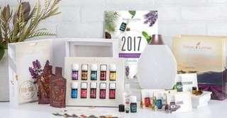 Diffuser + 11/13 essential oils premium set
