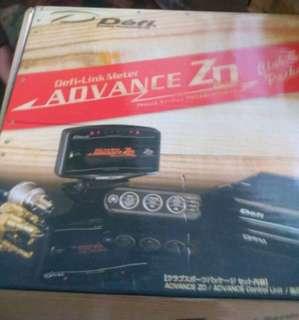 10 in 1 DEFI Style Advance ZD OLED Digital tachometer Full Kit