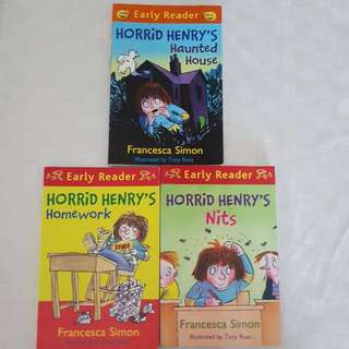 Horrid Henry's Series (Excellent Condition, No Yellow Spots)