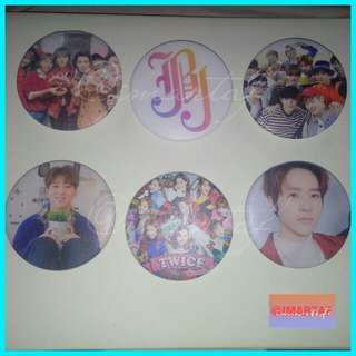 Pin button ready stock