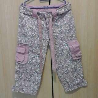 Authentic Vintage M-size MickeyMouse 3/4 Pants (Denim)