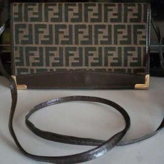 Fendi monogram sling,shoulder bag