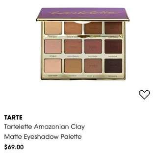 Tarte 'Amazonian Clay' Matte Eyeshadow Palette