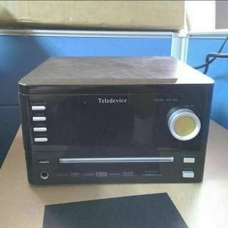 DVD and Hi-fi player