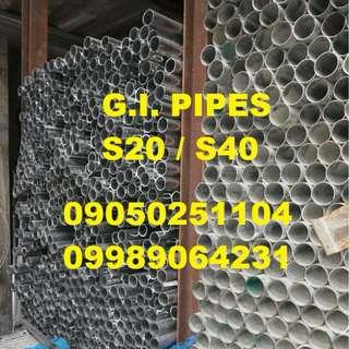 Galvanized Iron Pipe G.I. Pipe Sched 20 9kilos 11 kilos 16 kilos