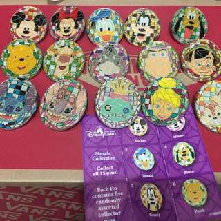 Disney Pin - Mosaic Collection 2009
