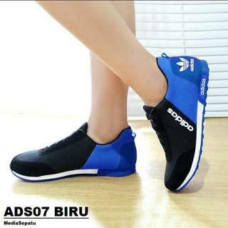 Sepatu Wanita Adidas Replika Neo Kets Casual Sneakers