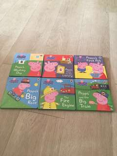Brand new Peppa Pig Hardcover Storybooks