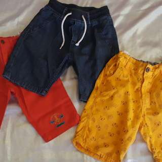 Braded shorts for take all