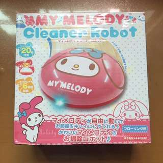 My Melody cleaner robot