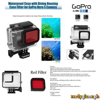 Gopro Hero 5 Standard Case with Filter