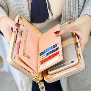 Ladies Fashion PU  Leather Wallet
