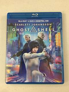 Ghost In The Shell Blu Ray + DVD + Digital HD