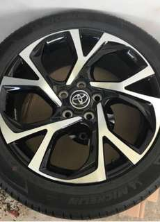 CHR stock rims ( 1 day old )