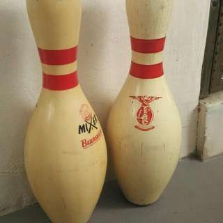Old Bowling Pin