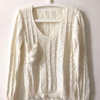 🚚 柔軟 麻花 針織 毛衣