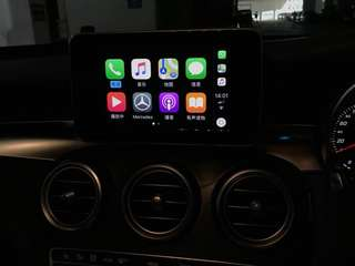 Mercedes-Benz GLC250 Garmin Map & Apple CarPlay & Android Auto Package