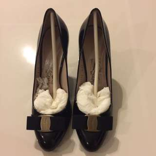 Preloved Ferragamo Heels - Size 6B (SALE!)