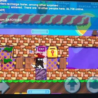 Growtopia Account(email provided)
