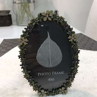 Christal photo frame