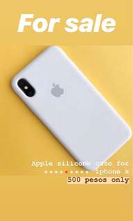 Official Silicone Case for iPhone x