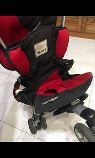preloved stroller (good for travelling and for cabin)