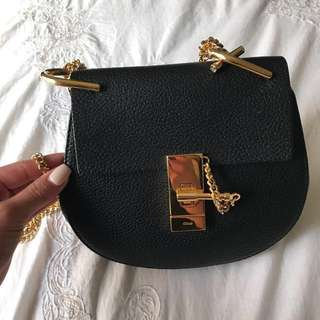 * Quick Sale - Negotiable* REDUCED Authentic  Mini Leather Drew Shoulder Chloe Bag