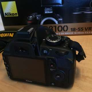 Camera DSLR Nikon model D3100 + Fullkit