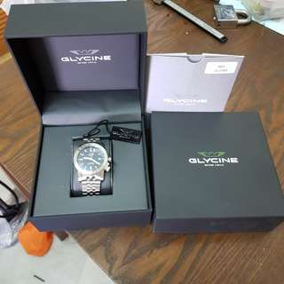 Glycine Airman 42 GL065 GMT Swiss made Watch