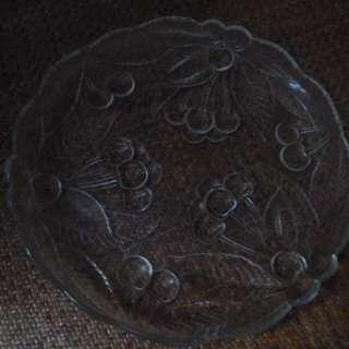 玻璃碟 ( 盛生果 / 沙律 )