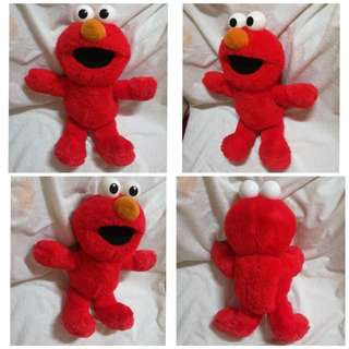 Vintage 1995 Tyco Elmo Stuff Plush Toy
