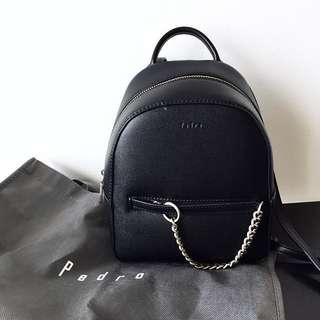 PEDRO embossed compact two-way backpack