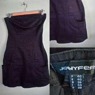 Jennyfer Black Tube Dress