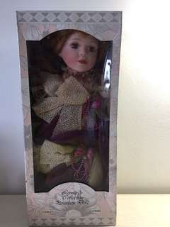 Leonardo Collection Porcelain Doll