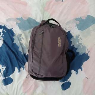 American Tourister backpack with wheels