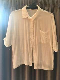 White blouse size 10-12
